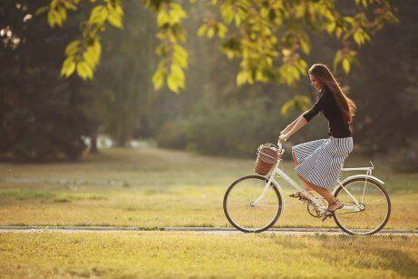 eroon ilmavaivoista pyöräilemällä