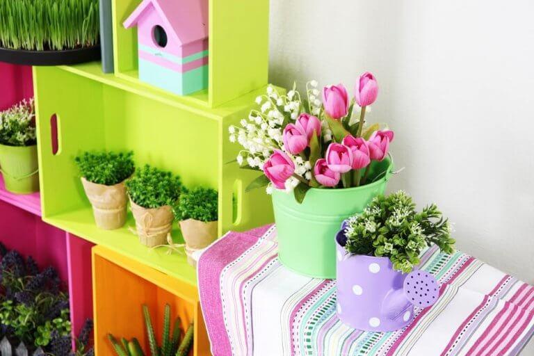 kotisi sisäänkäyntiin sopivat kukat