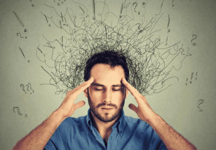 stressin negatiiviset vaikutukset: ajatukset eivät kulje