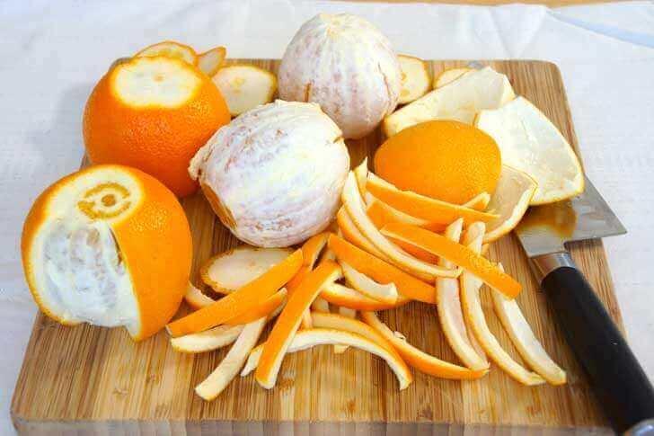 appelsiinit kuorineen