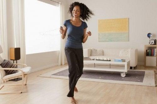rasvaa voi polttaa tanssimalla