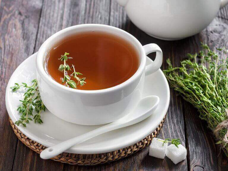 timjami teetä