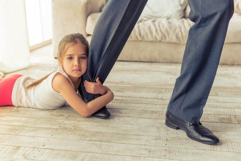 Poissaolevien vanhempien tunnusmerkkejä