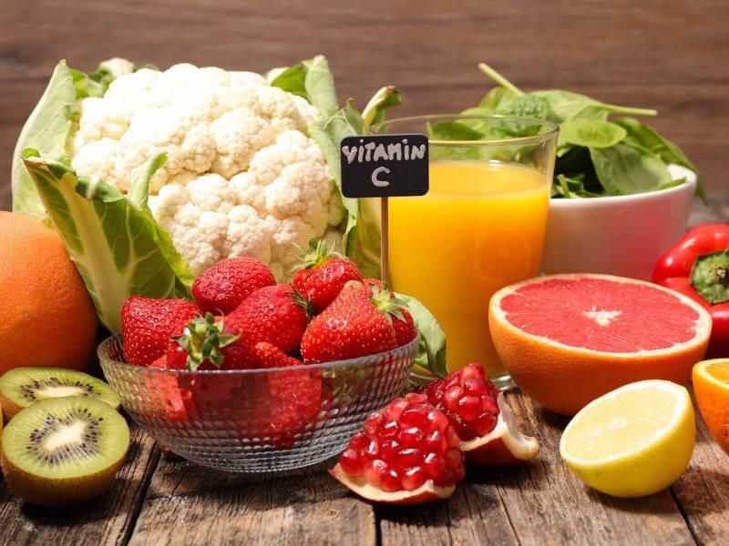 allergian lievittäminen C-vitamiinin avulla