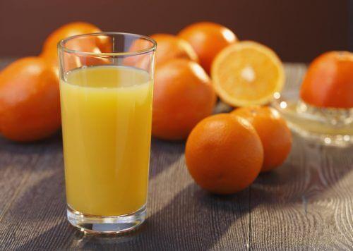 appelsiinimehu on erinomaista virtsahapon hallintaan