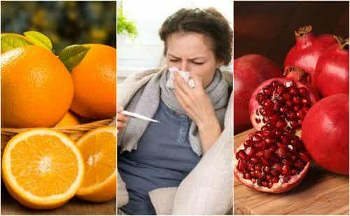Välty flunssalta näiden 8 ruoan avulla