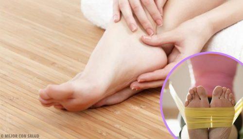Jalkojen vahvistaminen kotiharjoituksilla