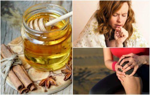 Hunaja ja kaneli: 8 lääkinnällistä hyötyä
