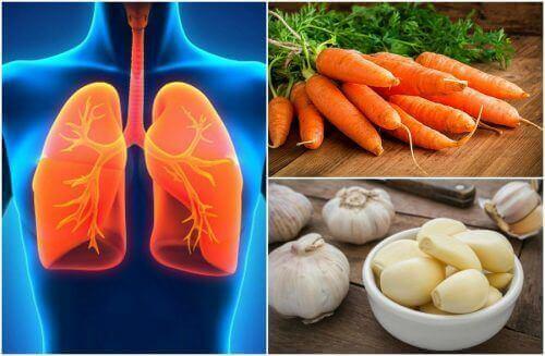 7 keuhkojen terveyttä parantavaa ruokaa