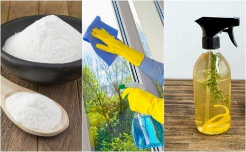 5 ympäristöystävällistä lasinpuhdistusainetta