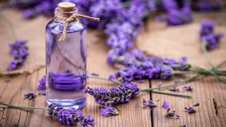 voit vaalentaa tummia silmänalusia laventelilla