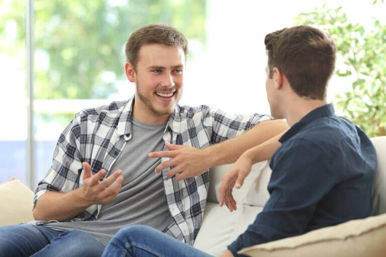 onnistuneita keskusteluja ystävysten välillä