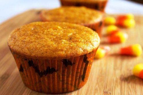 aamiaisruokaa kurpitsasta: muffinit