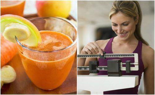 Inkivääri-porkkanamehun hyödyt terveydelle