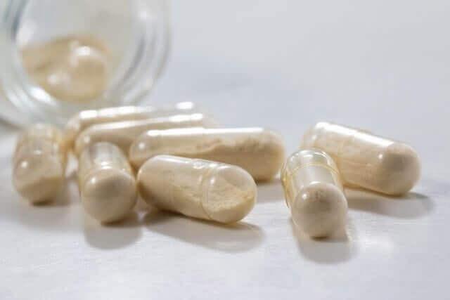 probiootteja kapseleissa