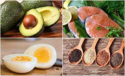 Terveelliset rasvat: 6 suositeltua ruokaa