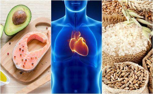 6 sydämelle terveellistä ruokailutottumusta