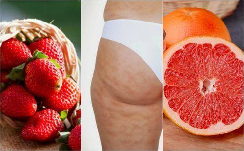 6 hedelmää selluliitin vähentämiseksi vaivattomasti