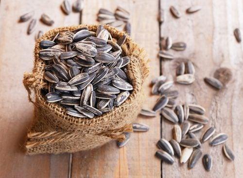 siementen terveelliset rasvat