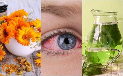 5 luontaishoitoa silmien punoitukseen