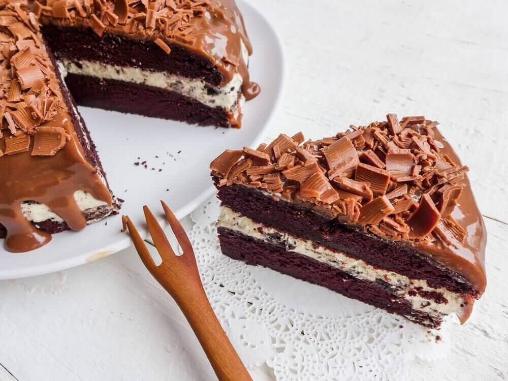 3 jälkiruokaa perhetapahtumiin - suklaakakku.