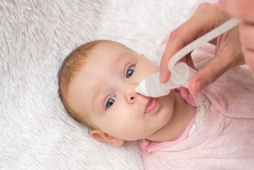 vauvan nenän puhdistus