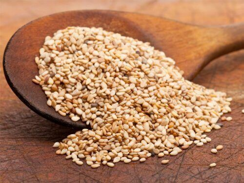 terveellisiä siemeniä: seesaminsiemenet