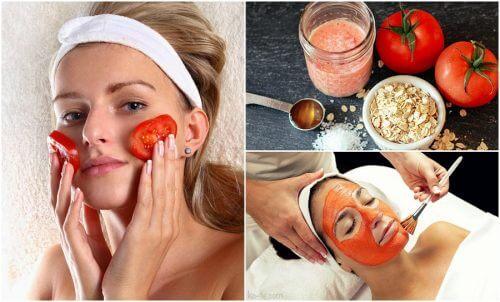 5 kauneushoitoa tomaateista