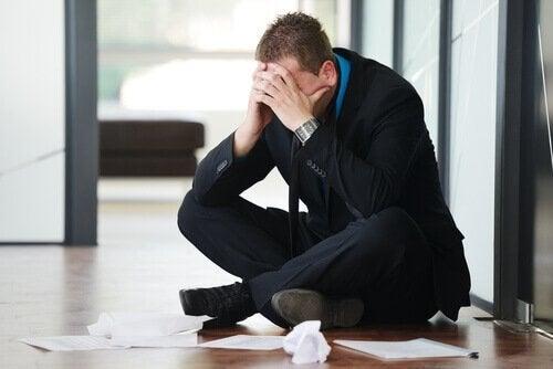 ylitöiden vaikutukset terveydelle: ahdistus
