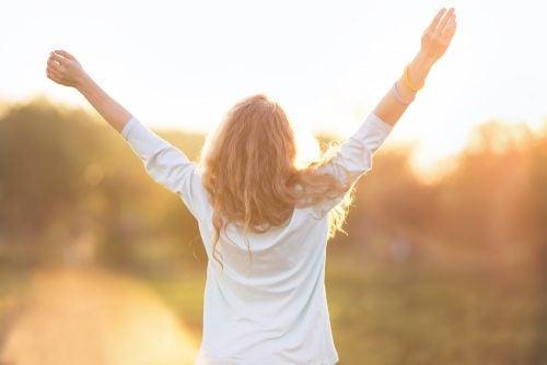 Tunnet olosi vapautuneeksi kun ilmaiset tunteitasi.