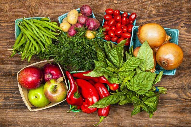 ruokavaihtoehdot leukemiapotilaille: vihannekset ja hedelmät