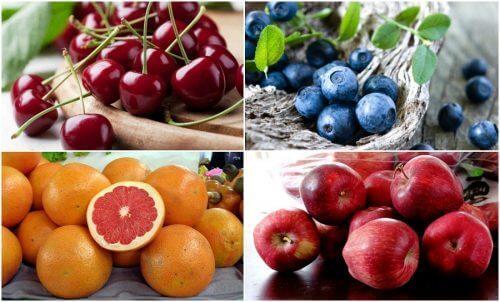 Virtsahappo hallintaan hedelmillä ja marjoilla