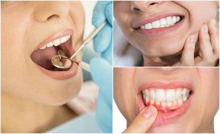 7 hammastulehdukseen viittaavaa oiretta