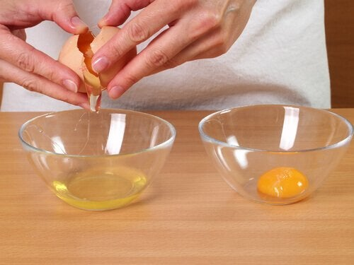 munanvalkuaiset hiustenhoidossa