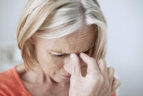 sivuonteloiden tulehdus aiheuttaa kipua