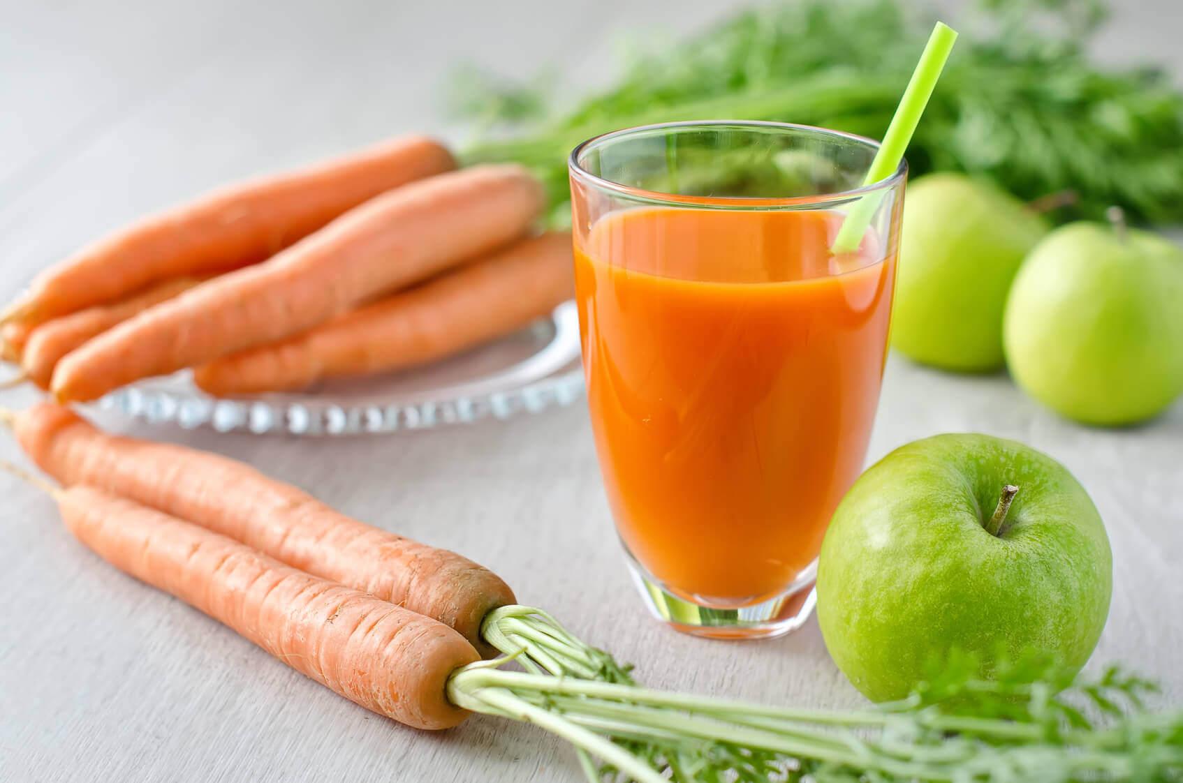 mehu porkkanasta