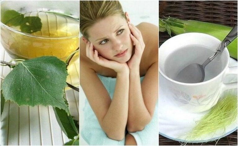 5 teetä virtsarakontulehduksen hoitoon