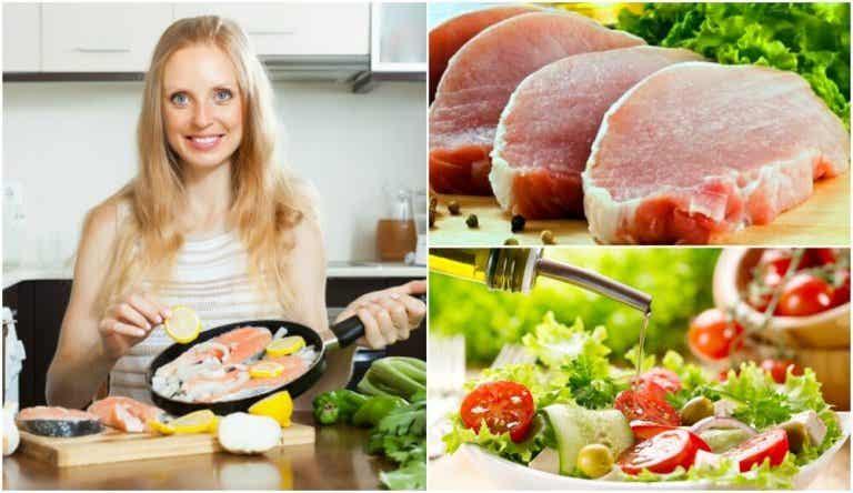 6 vinkkiä vähärasvaisempaan ruoanlaittoon