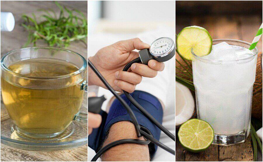 5 luontaishoitoa matalan verenpaineen kohentamiseksi
