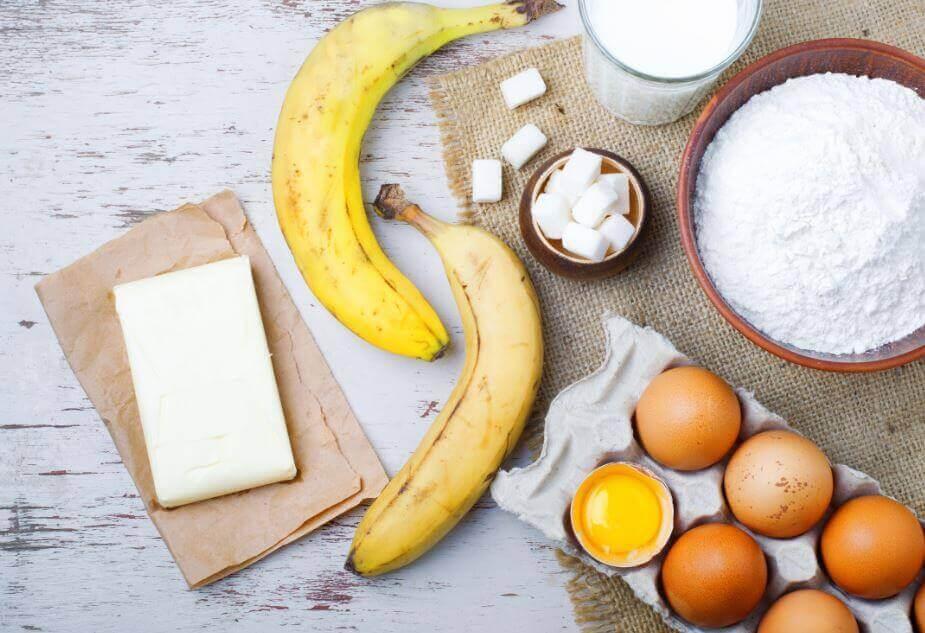 Banaanikakun tärkein ainesosa on banaani