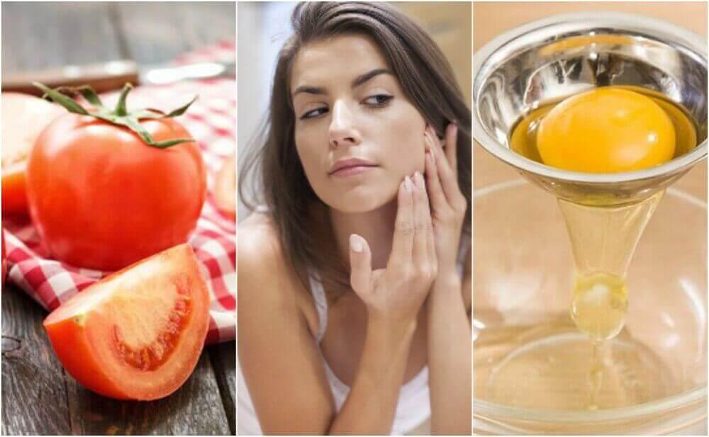 5 kotitekoista naamiota supistamaan ihohuokosia