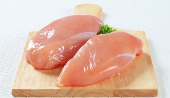 Kananrinta on reseptin perusainesosa