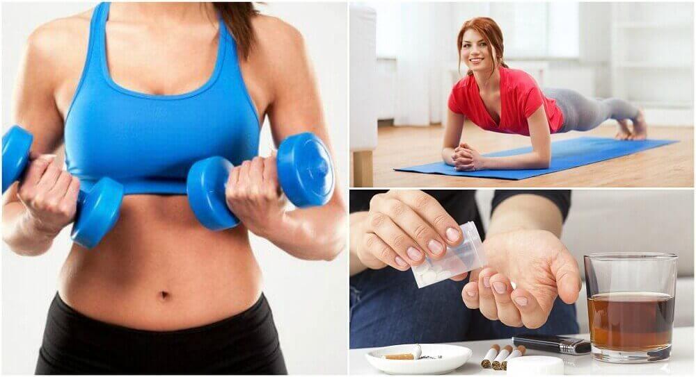 6 virhettä, jotka estävät lihasmassan kasvua
