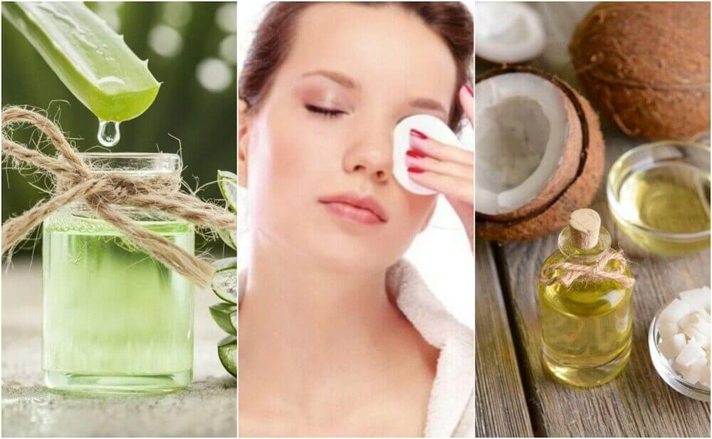 5 hoitavaa, luonnollista meikinpoistoainetta