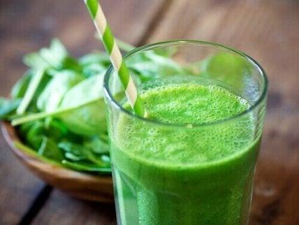 vihreät juomat
