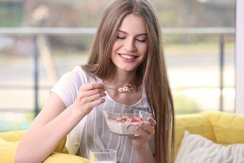 5 hyvää aamiaista painonpudotukseen