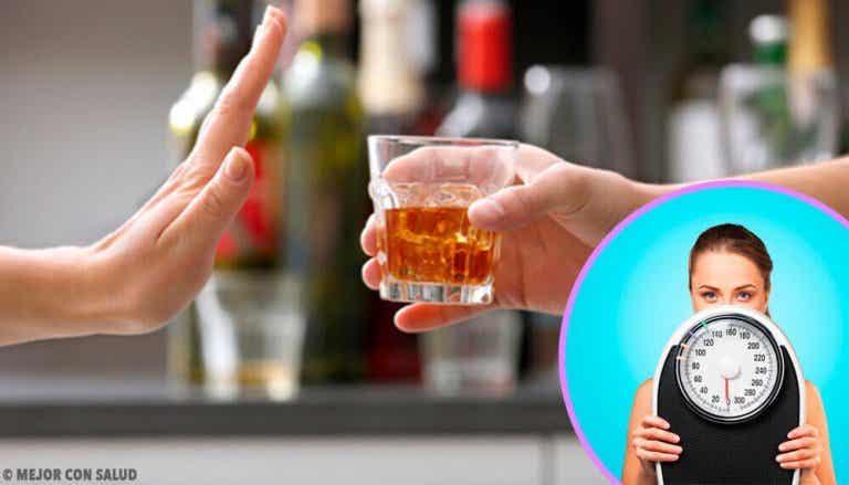 Onko alkoholin juominen lopetettava, jotta laihtuu?