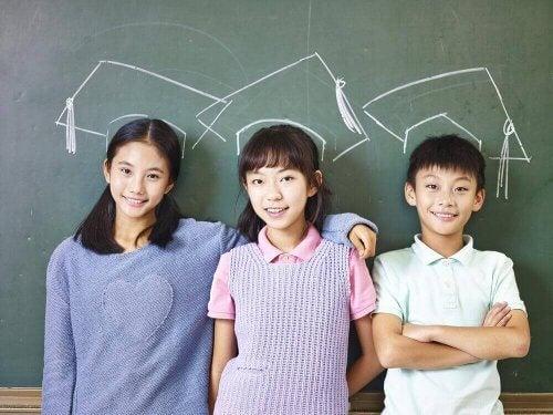 japanilaiset lapset