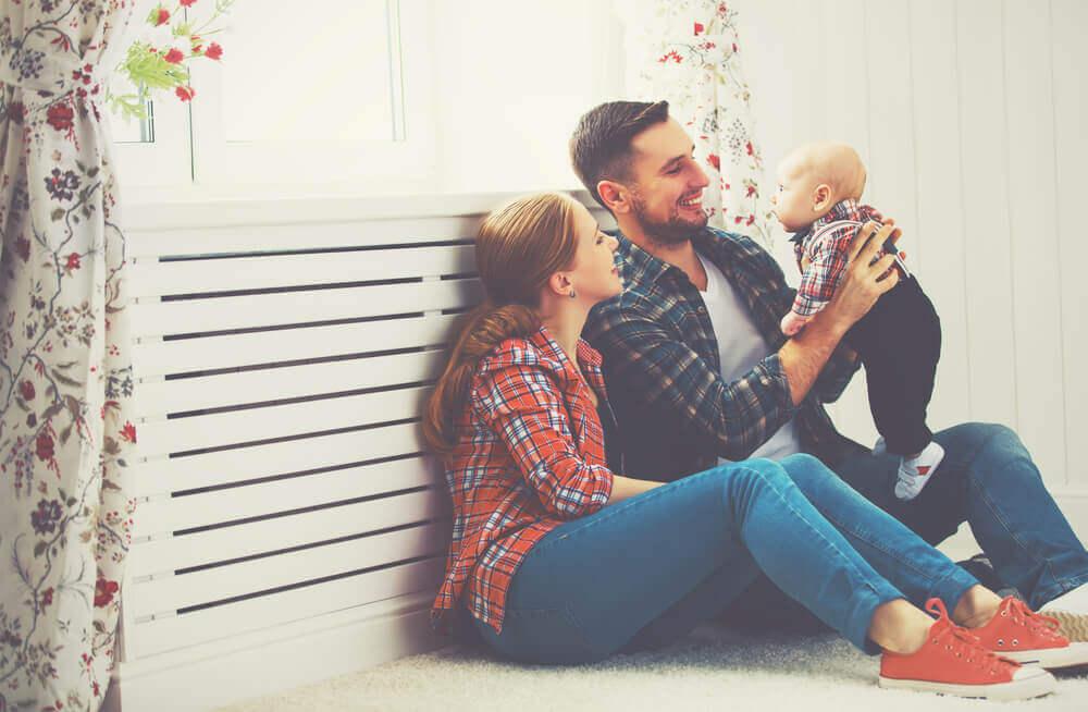 perheonnea lapsen saamisen jälkeen