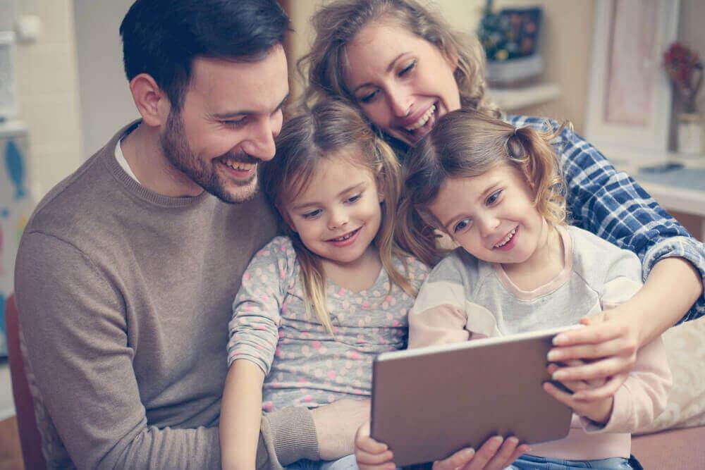 perhe ja tabletti
